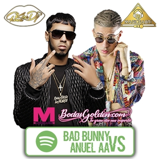 spotify playlist bad bunny vs anuel aa